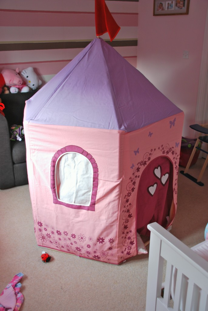When ... & Princess tent