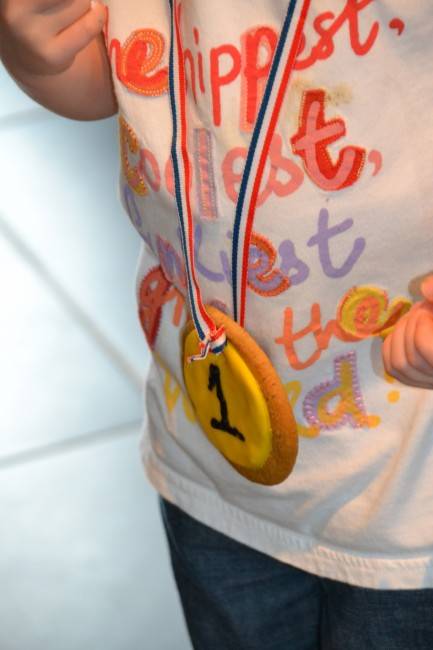 Edible Olympic Medals