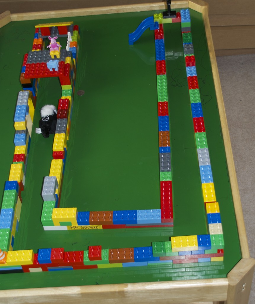 DUPLO track