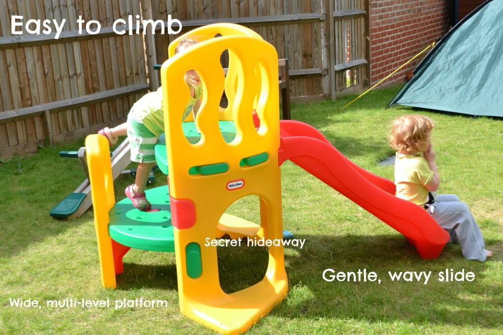 little tikes double decker super slide instructions