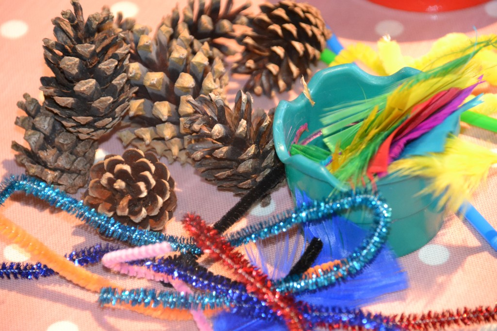 Things to make with pinecones