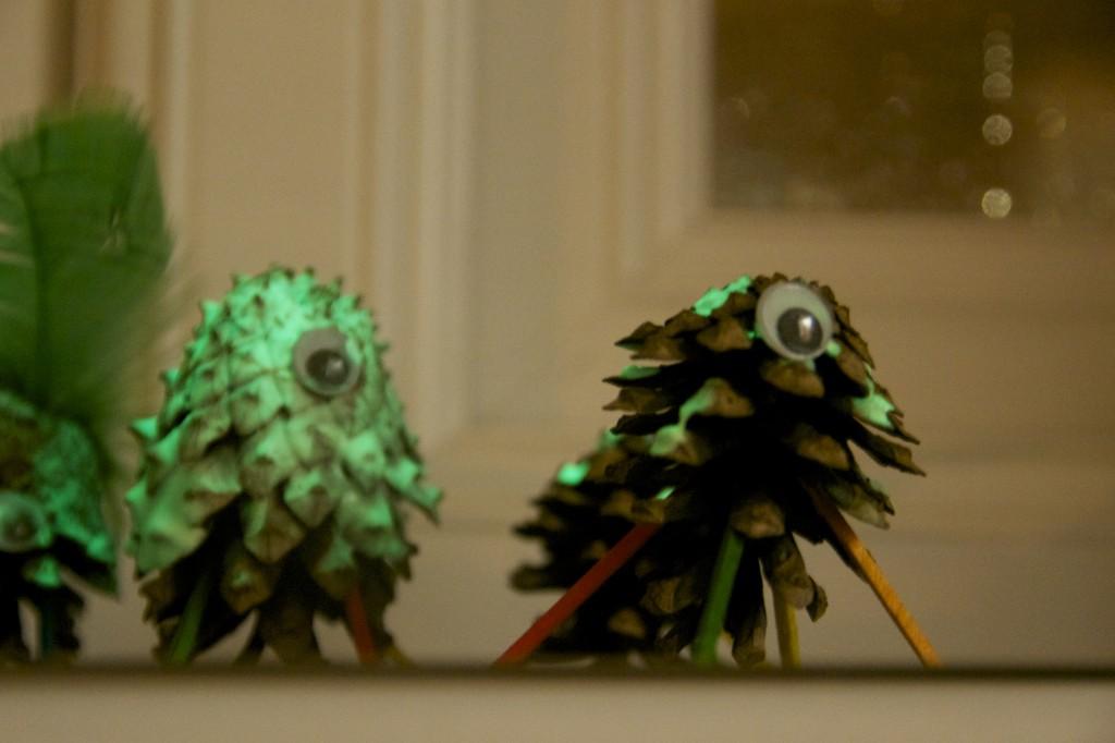 Pinecone Aliens