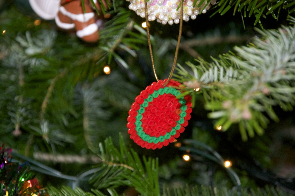 HAMA Bead Christmas Decorations