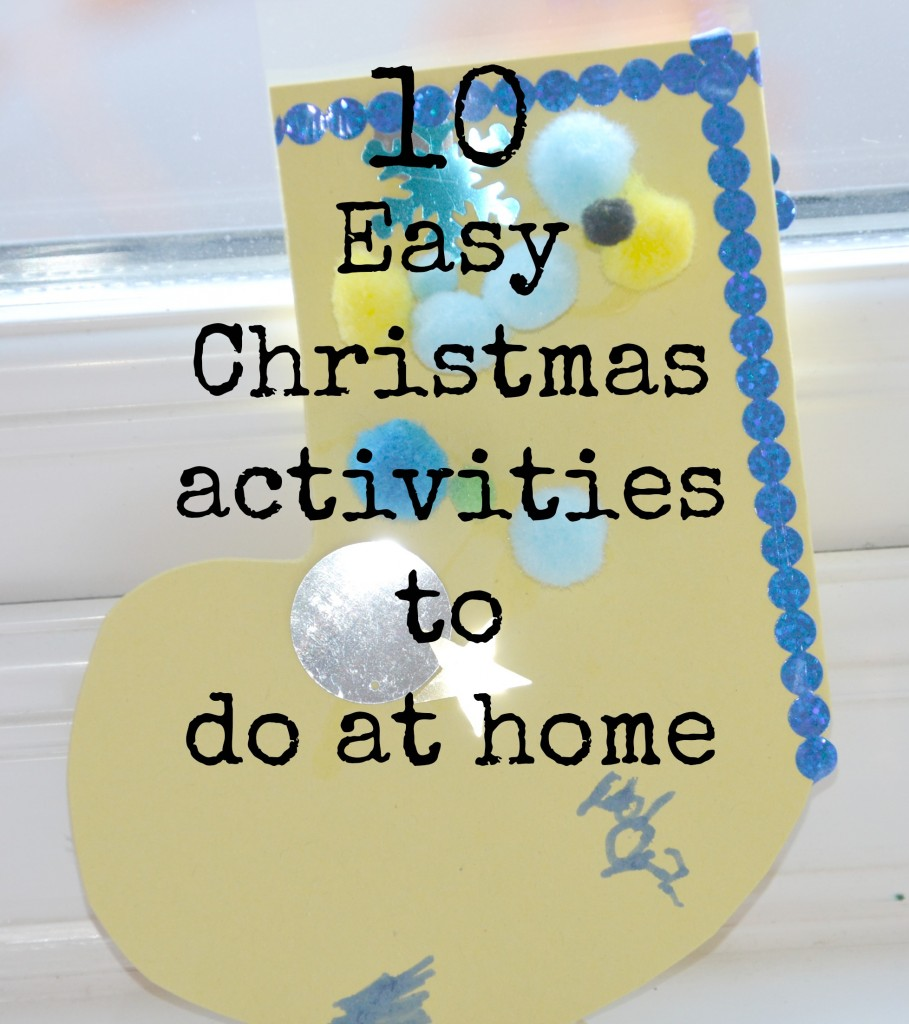 10 easy christmas activities to do at home