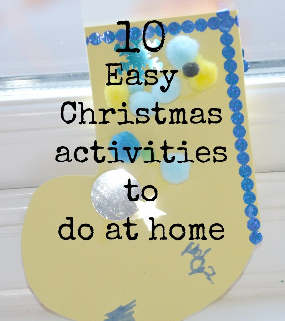Easy Christmas Activities