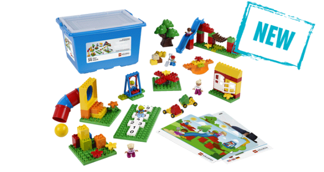 Lego Education playground set