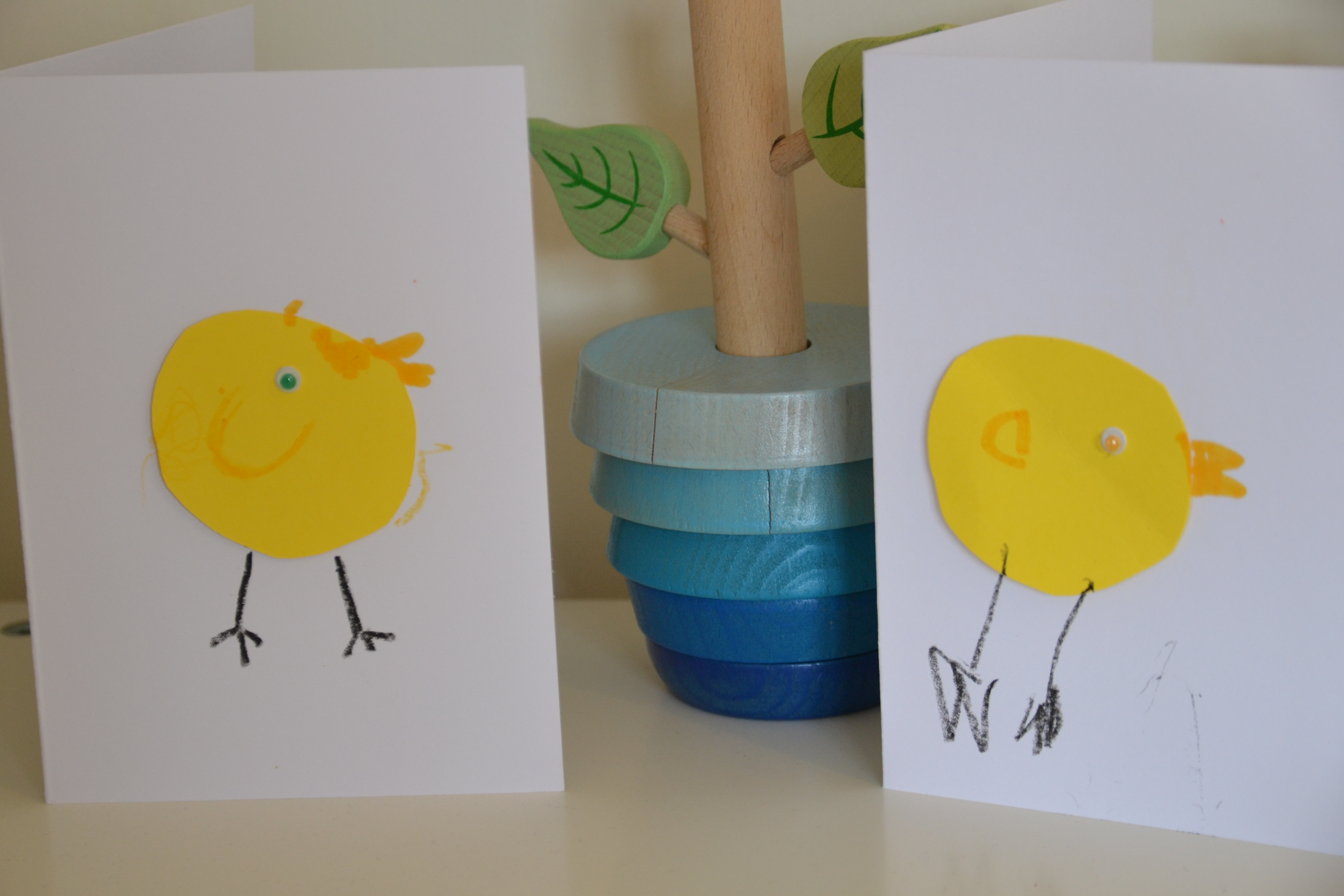 Easter Cards for Toddlers to Make