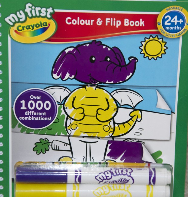 Crayola, flip book