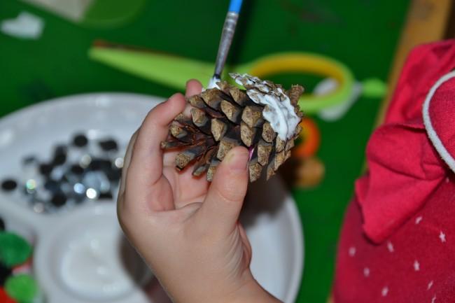 Pinecone craft