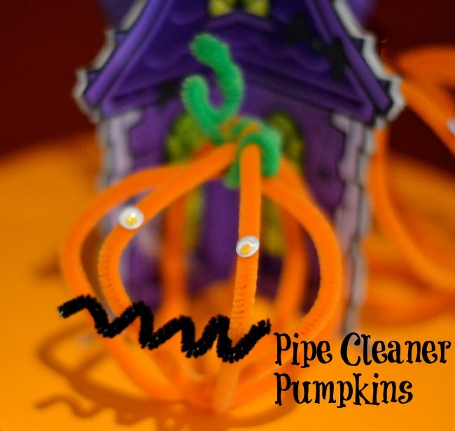 pipecleaner pumpkin