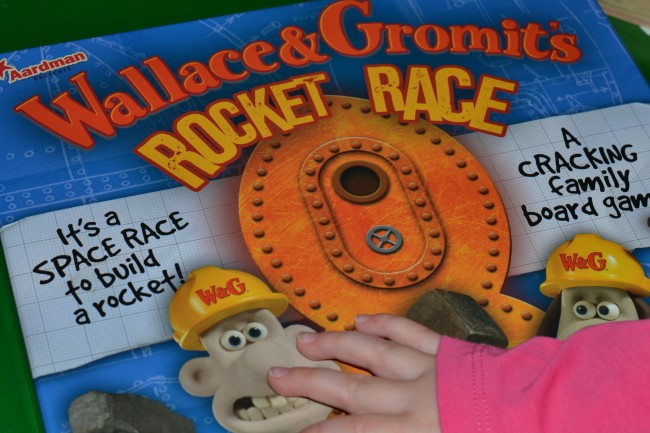 Wallace and Gromit Rocket Race