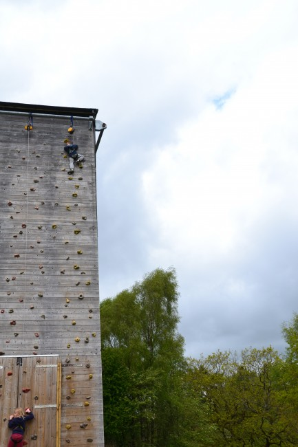Adventure wall - Forest of Dean