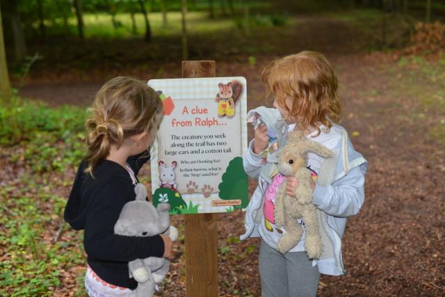 Sylvanian Families trail