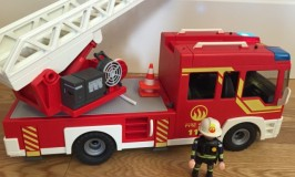 Playmobil light and sound fire engine
