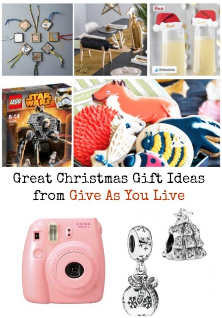 Christmas Gifts from Give As You Live