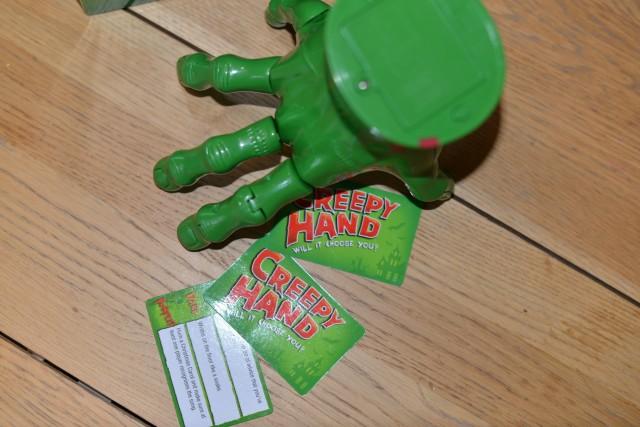 Creepy Hand Game