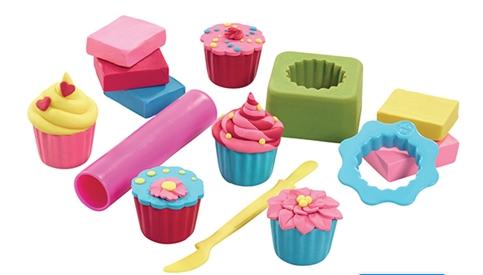 plasticine softeez cupcake creations