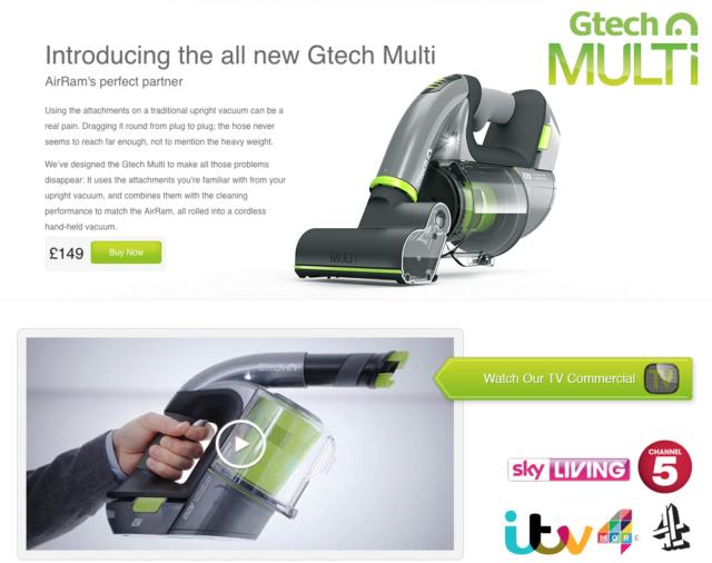 Gtech Multi Cordless