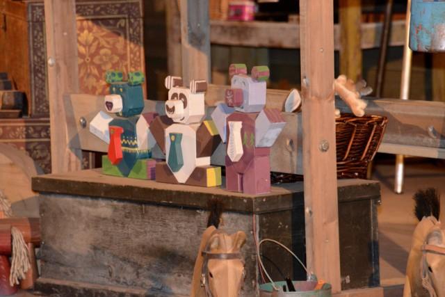 Toy making at Lapland UK