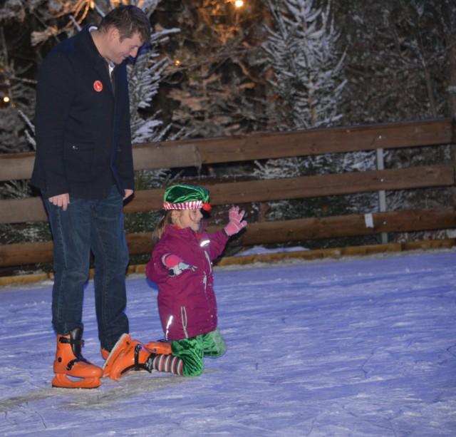 ice skating Lapland UK