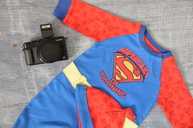 Baby superman outfit