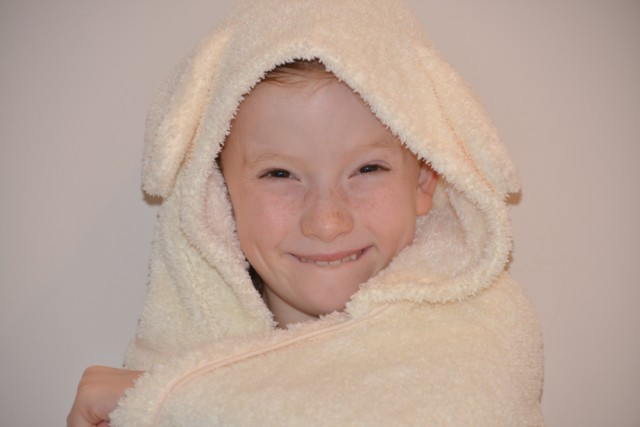 Snuggle Bunny Towel from Cuddledry