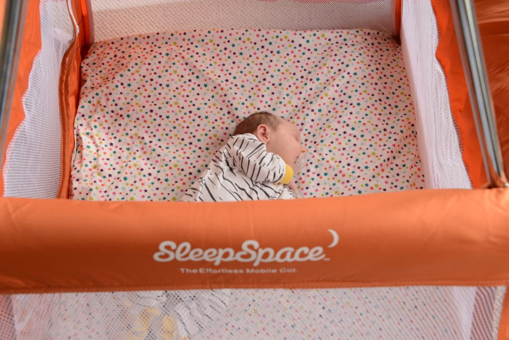 SleepSpace Travel Cot