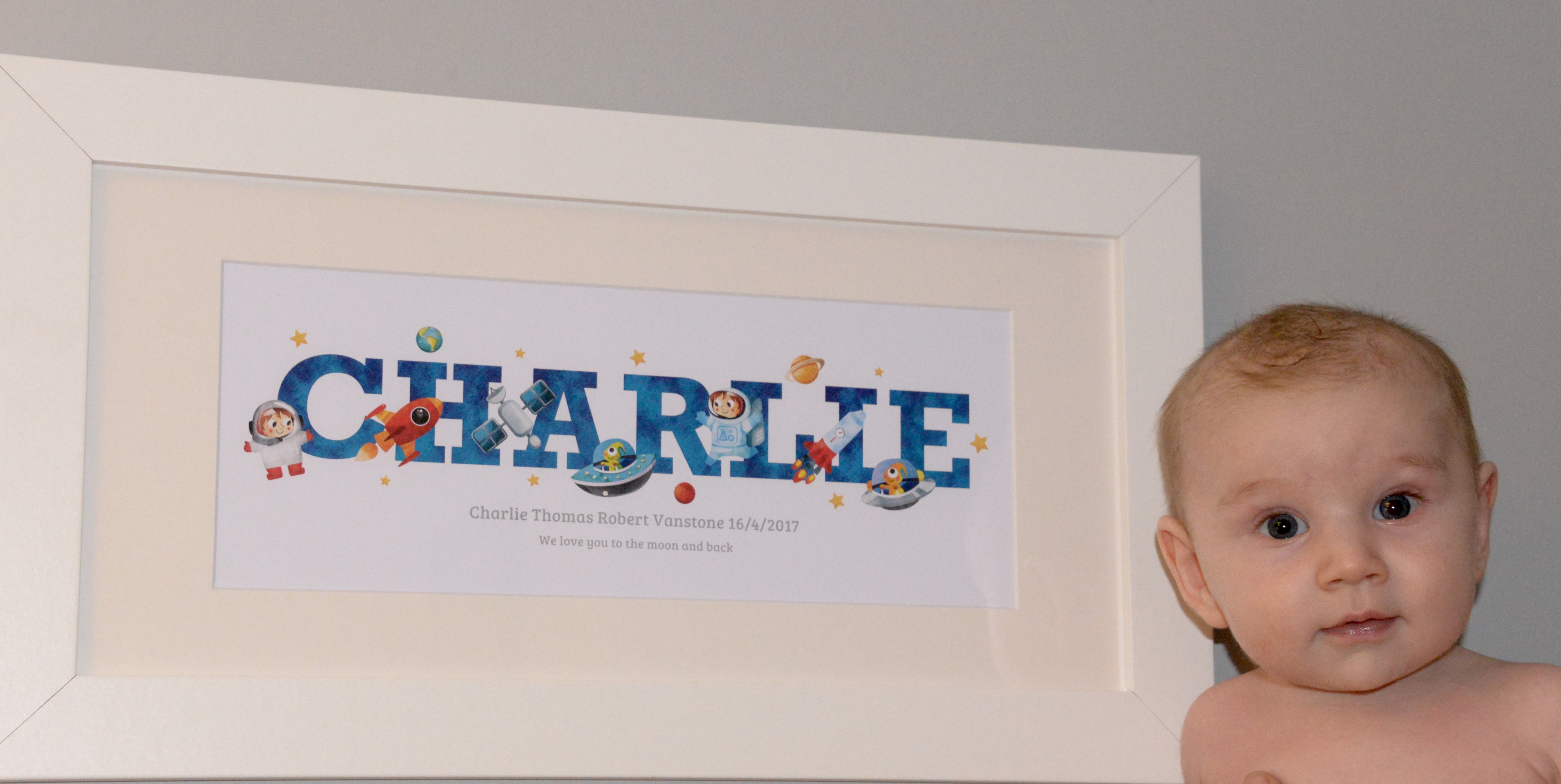 Win a Frame My Name Personalised Print