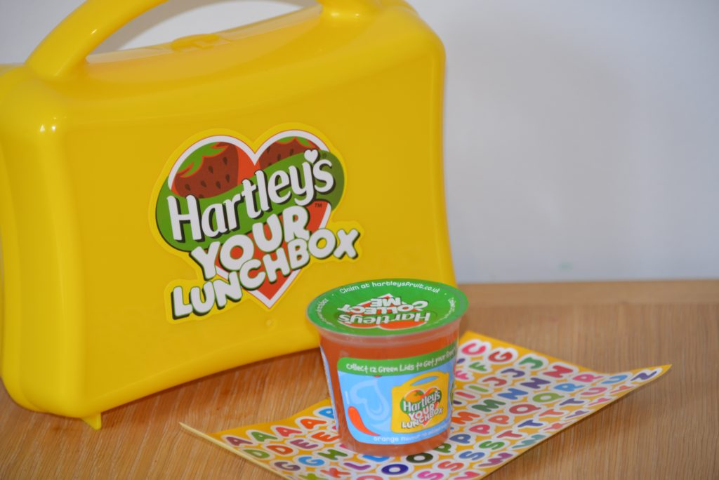 Lunch with Hartley's Jelly