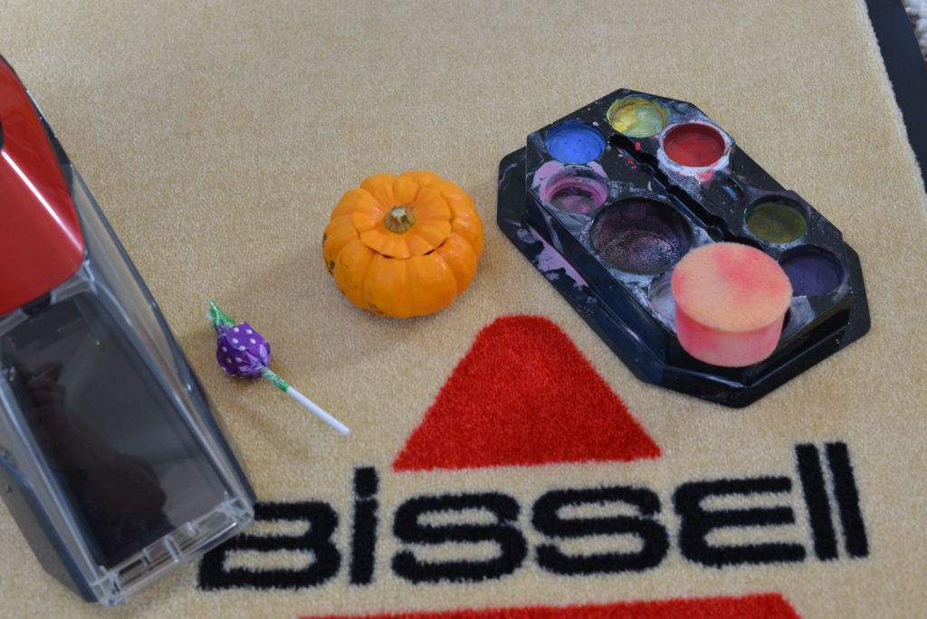 Halloween Stain Challenge with Bissell