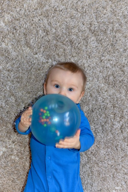 Baby and Edushape ball