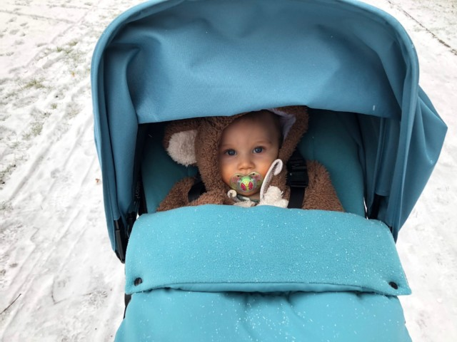 baby in bugaboo