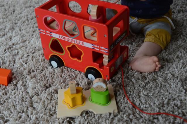 Hape Wooden Bus