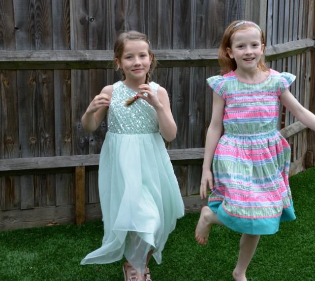 Monsoon girls dresses