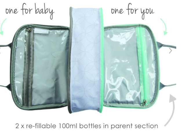 CuddleDry Baby & Me Washbag