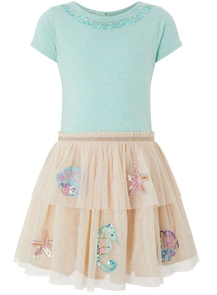 Disco Seahorse Dress