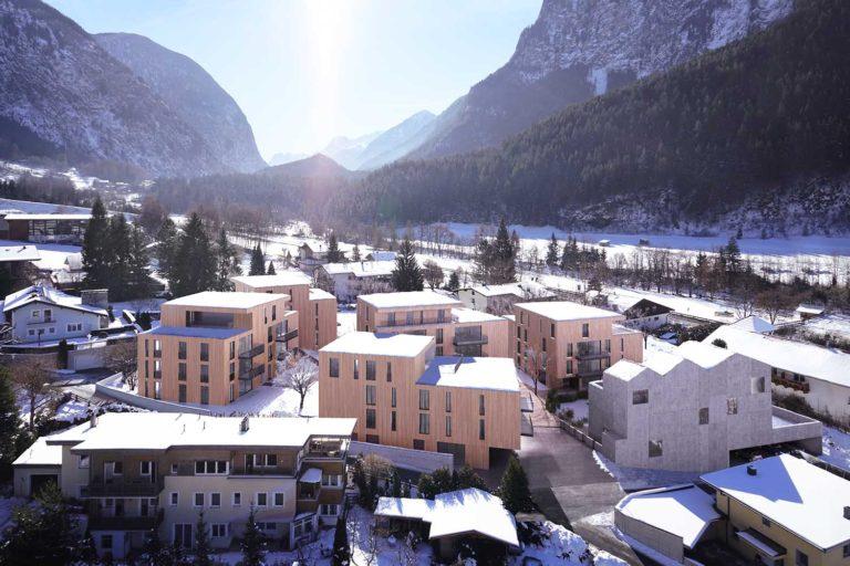 Austrian ski apartments