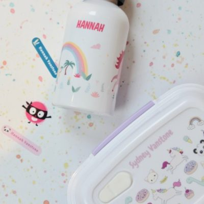 Back to School with Petit Fernand Personalised Labels