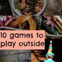 Fun games to play outside