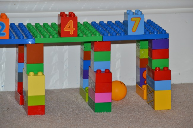 Number Tunnel DUPLO