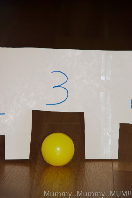 Math Game – Tunnel Number Game
