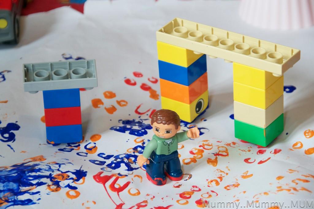 painting with bricks