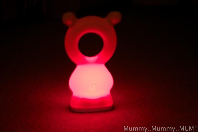 bear and hang night light
