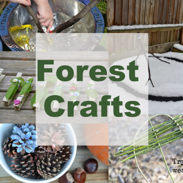 Easy Forest Crafts for Kids