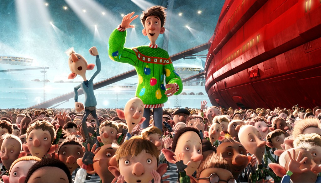 zs big christmas question is always how does santa get around the world so fast arthur christmas is going to explain to him far better than - Arthur Christmas Dvd