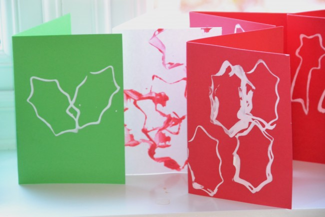 Easy Christmas Cards for Kids
