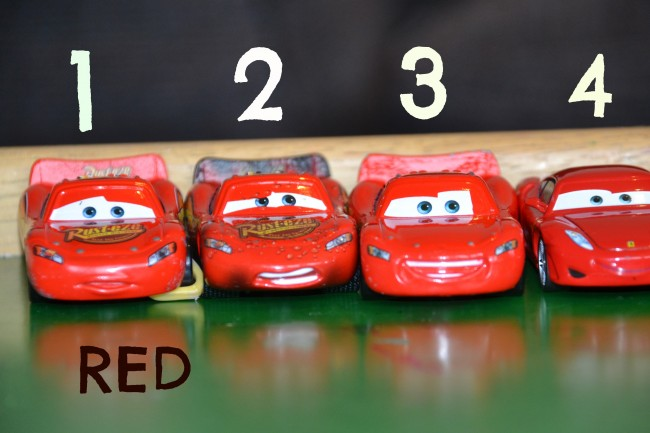 Early Numeracy with Cars