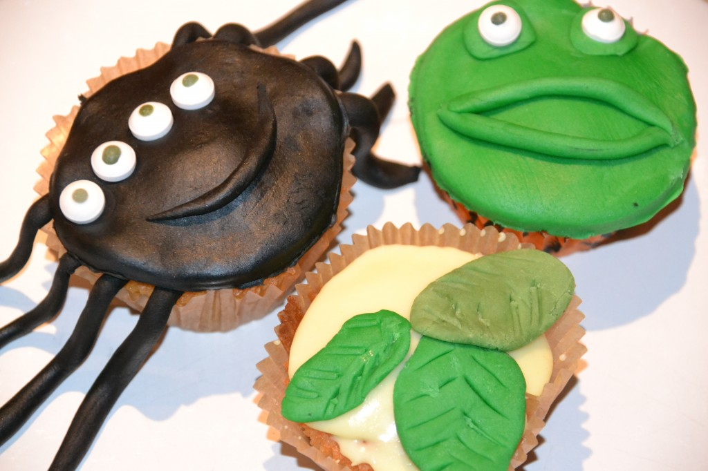 Tree Fu Tom cupcakes