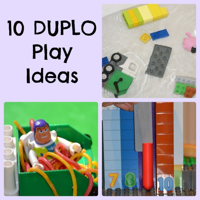 10 ways to play with DUPLO
