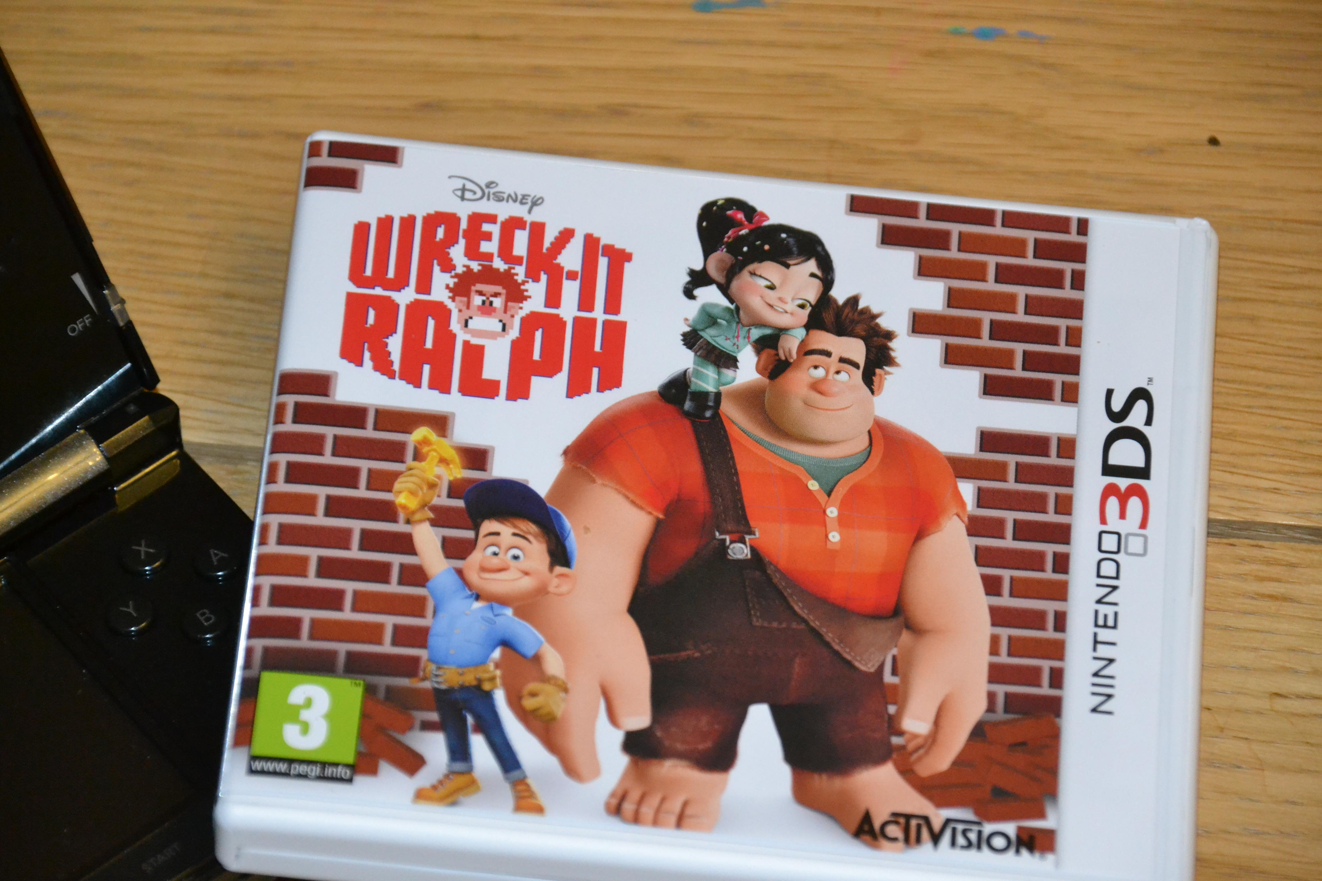 Wreck it Ralph Nintendo 3DS